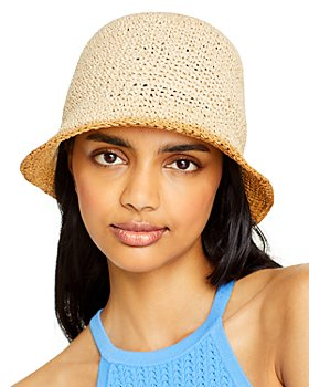 AQUA - Ombré Paper Bucket Hat