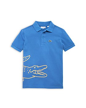 Lacoste - Boys' Big Croc Piqué Polo Shirt - Little Kid, Big Kid