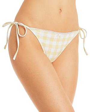 Brigette Printed Side Tie Bikini Bottom