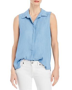 Single Thread Chambray Sleeveless Shirt