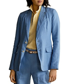 Ralph Lauren - Single-Breasted Linen Blazer