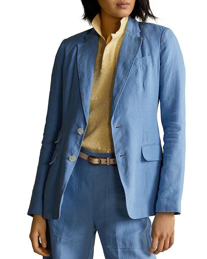 Ralph Lauren - Single-Breasted Linen Blazer