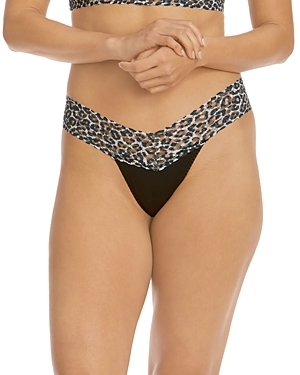 Hanky Panky Lace Waistband Low-Rise Thong - 100% Exclusive