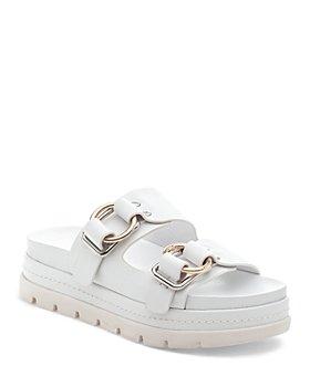 J/Slides - Women's Baha Platform Slide Sandals