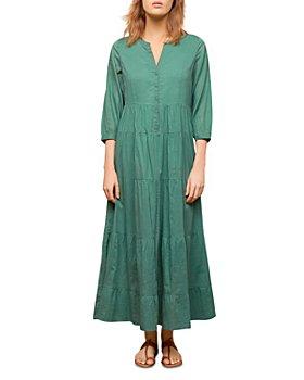 Gerard Darel - Seona Tiered Maxi Shirt Dress