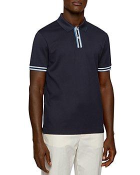 BOSS - Parlay Piqué Regular Fit Polo Shirt