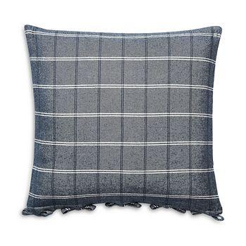 "Ralph Lauren - Eva Windowpane Decorative Pillow, 18"" x 18"""