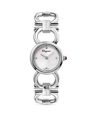 Salvatore Ferragamo Double Gancini Watch, 22mm