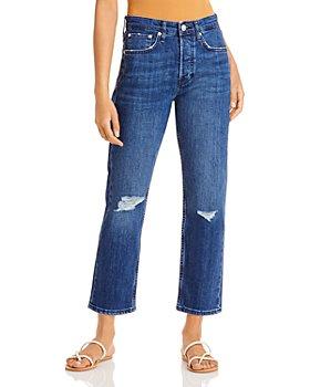 rag & bone - Maya High Rise Ankle Jeans in Emory