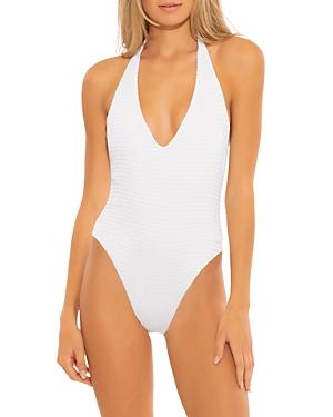 Maza Textured One Piece Swimsuit