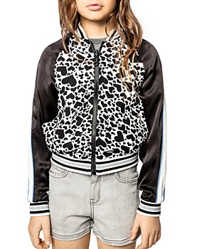 Zadig & Voltaire - Girls' Ben Reversible Jacket - Little Kid, Big Kid