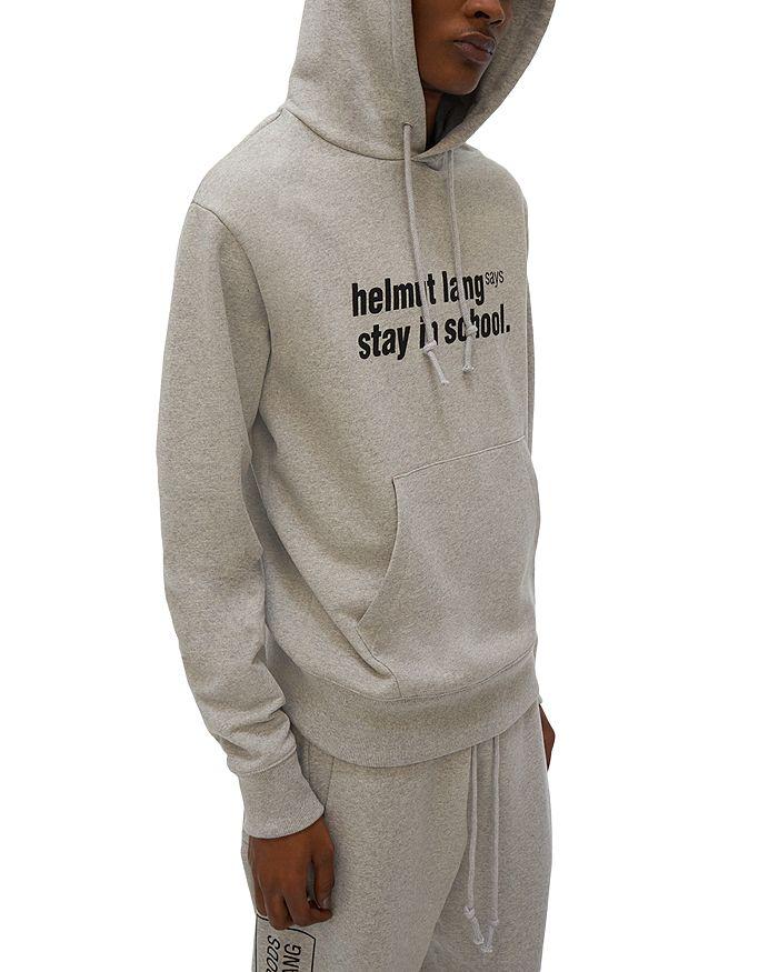 HELMUT LANG Hoodies STAY IN SCHOOL HOODIE
