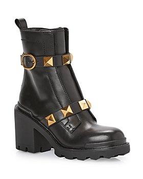 Valentino Garavani - Women's Roman Stud Combat Boots