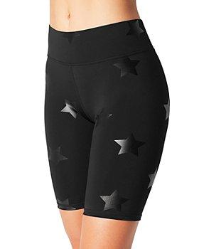 Terez - Star Print Biker Shorts
