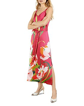 Ted Baker - Printed Midi Slip Dress
