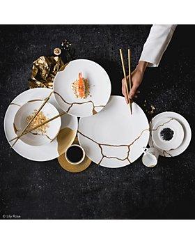 Bernardaud - Kintsugi-Sarkis 24K Gold Dinner Collection