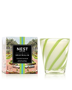NEST Fragrances - Gray Malin Summer Collection - Coconut & Palm Classic Candle 8.1 oz