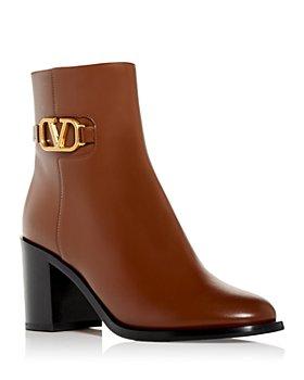 Valentino Garavani - Women's Vlogo Side Zip Booties