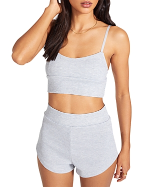 x Steve Madden It's The Little Thin Cropped Top