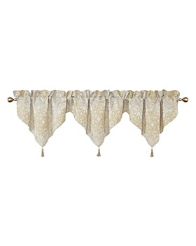 Waterford - Wynne Gold Ascot Valance, Set of 3