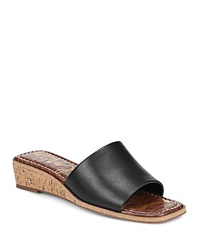 Sam Edelman - Women's Valery Slip On Wedge Sandals