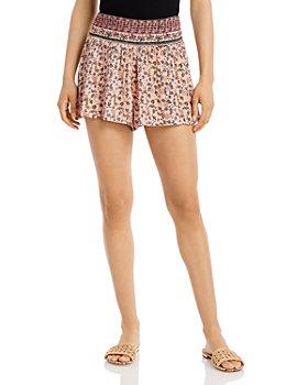 AQUA - Porter Printed Shorts - 100% Exclusive