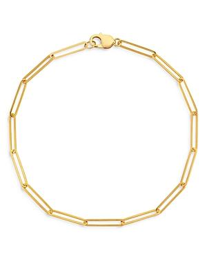 18K Gold-Plated Ella Link Necklace