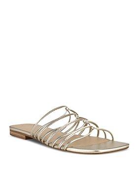 Marc Fisher LTD. - Women's Marcio Slip On Strappy Sandals