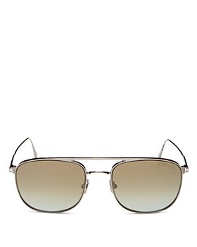 Tom Ford - Men's Jake Brow Bar Aviator Sunglasses, 56mm