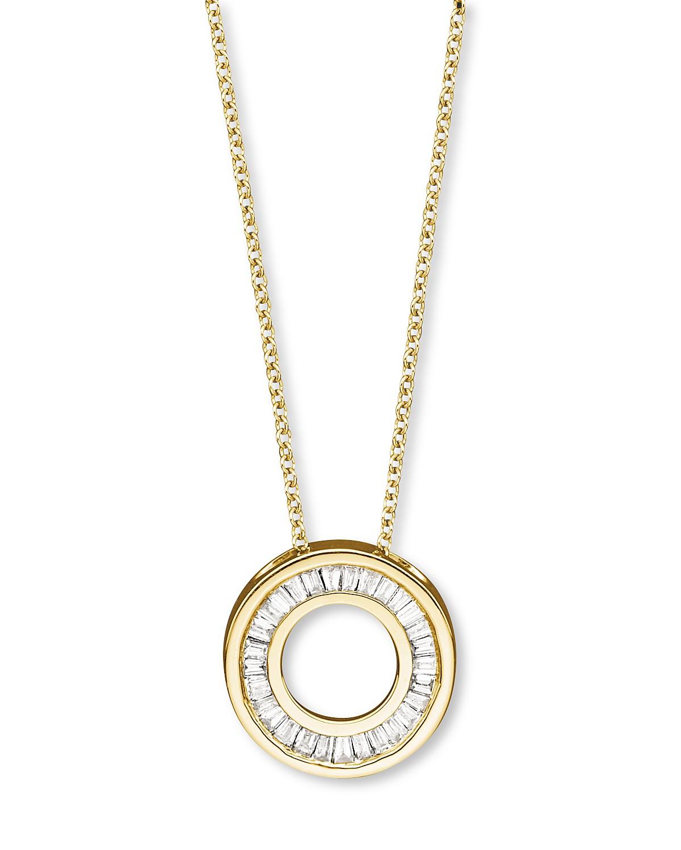 Diamond circle pendant necklace in 14k yellow gold 020 ct tw pdpimgshortdescription aloadofball Gallery