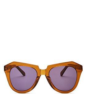 Karen Walker - Women's Cat Eye Sunglasses, 51mm