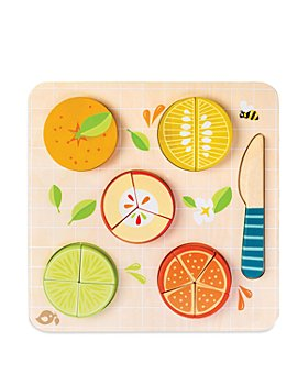 Tender Leaf Toys - Citrus Fractions Puzzle - Ages 18 Months+