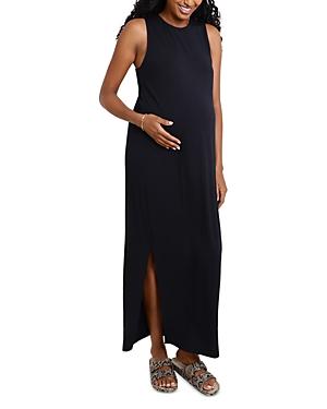 Maternity Squared Arm Column Dress