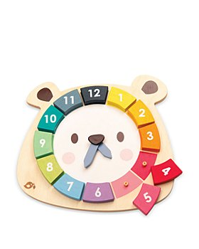 Tender Leaf Toys - Bear Colors Clock Wooden Toy - Ages 3+