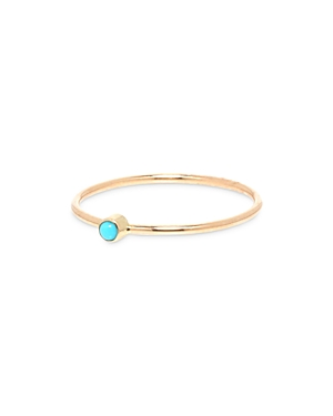 Zoë Chicco 14k Yellow Gold Ring With Turquoise