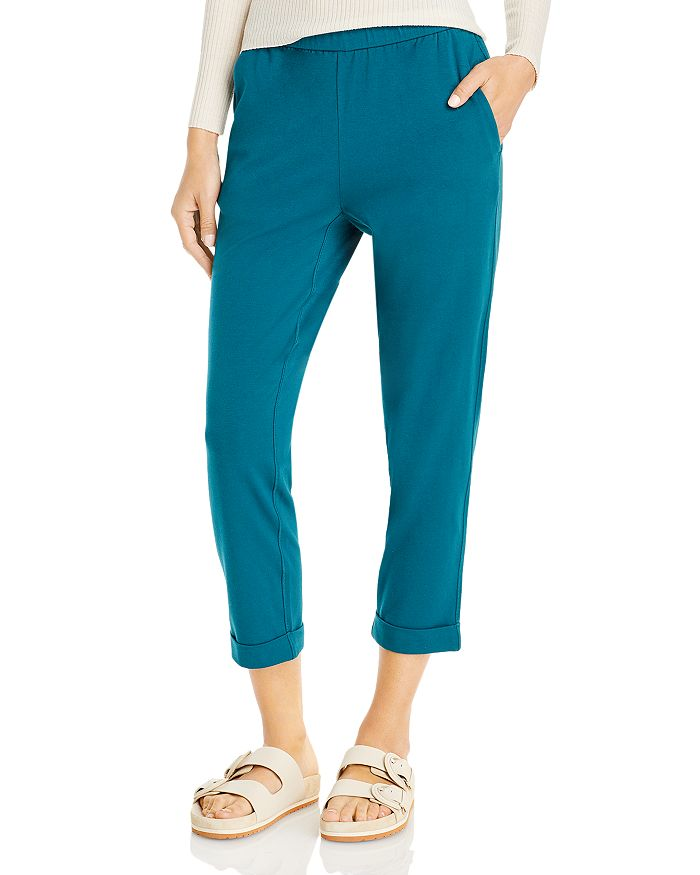 Eileen Fisher - Cropped Slim Fit Pants
