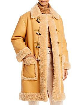 A.L.C. - Brunswick Faux Shearling Coat