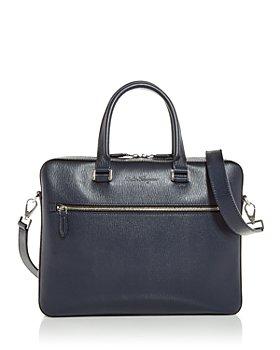 Salvatore Ferragamo - Revival 3.0 Luggage Strap Leather Briefcase