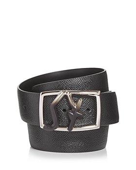 Salvatore Ferragamo - Men's Logo Buckle Leather Belt