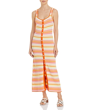 Solid & Striped Kimberly Striped Maxi Cover Up Dress