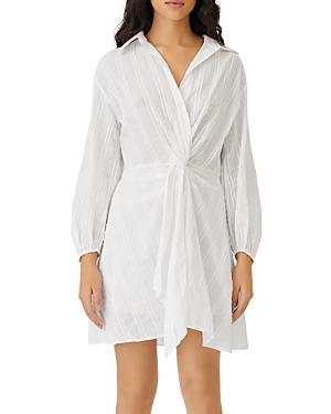 Maje Ritellio Twisted Shirt Dress