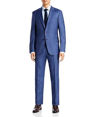 Plaid Classic Fit Suit