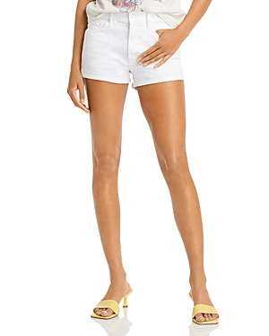 Mother The Teaser Donut Roll Shorts in Totally In