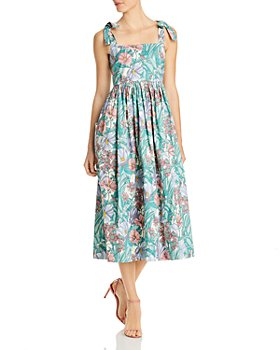 Tory Burch - Tie-Shoulder Beach Dress