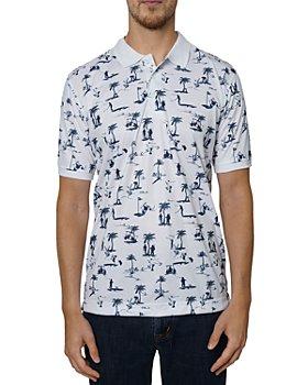 Robert Graham - Golf Paradise Printed Classic Fit Polo Shirt