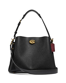 COACH - Willow Small Leather Bucket Tote