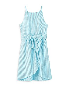 Habitual Kids - Girls' Striped Wrap Dress - Big Kid