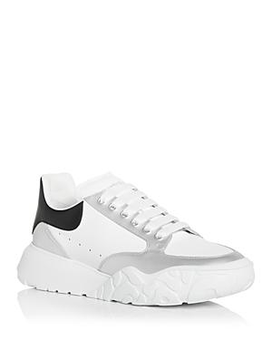 Alexander McQUEEN Men's Court Trainer Low Top Sneakers