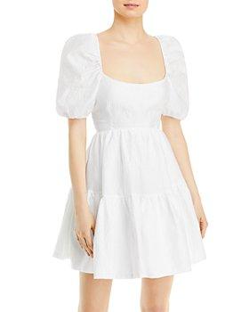 Bardot - Tiered Bow Mini Dress
