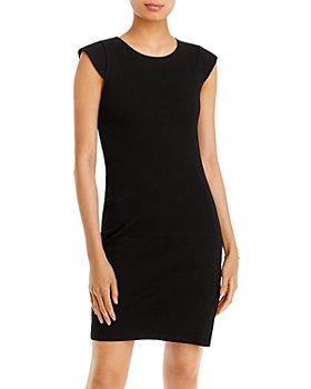 AQUA - Rib Knit Bodycon Dress - 100% Exclusive